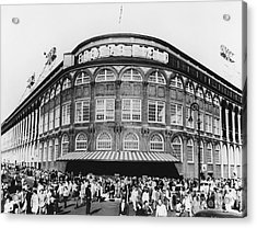 Ebbets Field, Brooklyn, Nyc Acrylic Print