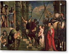 Ecce Homo, 1543 Acrylic Print by Titian
