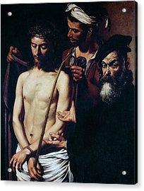 Ecce Homo, 1605 Acrylic Print by Caravaggio