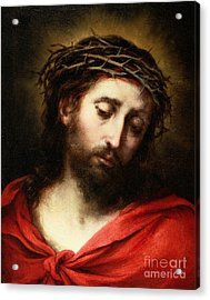 Ecce Homo, Or Suffering Christ Acrylic Print