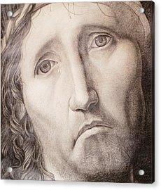 Ecce Homo Acrylic Print by Roland Pangrati