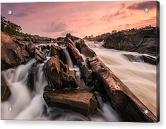 Acrylic Print featuring the photograph Echoes At Daybreak by Bernard Chen