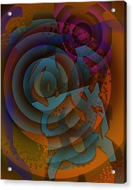 Eclectic Soul Zone Acrylic Print