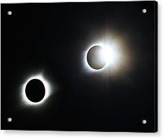 Totality Awesome Acrylic Print