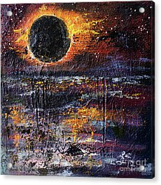 Eclipse In The Garden Of Good And Evil Acrylic Print