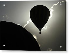 Eclipse Acrylic Print by Marie Leslie