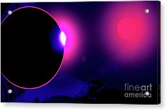 Eclipse Of 2017 Acrylic Print