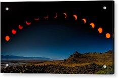 Eclipse Pano Acrylic Print