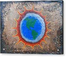 Eclipse Acrylic Print by Steve  Hester