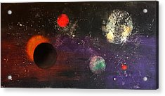 Eclipse Acrylic Print by William Renzulli
