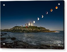Eclipsing The Nubble Acrylic Print
