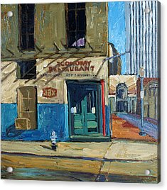 Economy Restaurant Acrylic Print by Dale Knaak