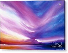 Ecstacy Acrylic Print by James Christopher Hill