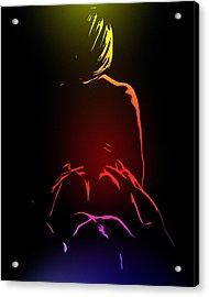 Ecstasy Acrylic Print by Steve K