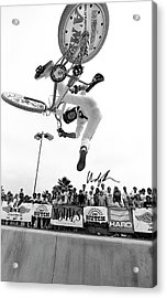 Eddie Fiola Freestylin' Cover 1986 Acrylic Print