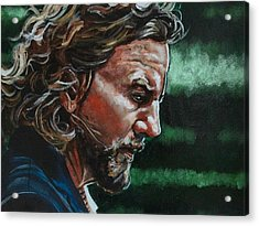 Eddie Vedder Acrylic Print