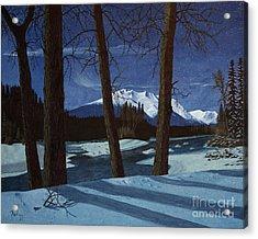 Eddy Park Moonlight Acrylic Print