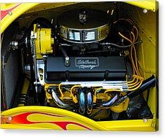 Edelbrook Racing Engine Acrylic Print by DazzleMe Photography