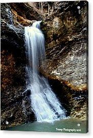 Eden Falls Acrylic Print