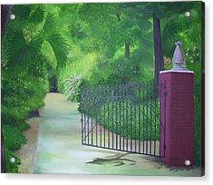 Edenlawn Plantation Acrylic Print