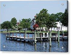 Edenton Waterfront Acrylic Print