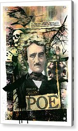 Edgar Allan Poe Acrylic Print