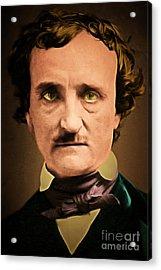 Edgar Allan Poe The Raven 20160420 Acrylic Print