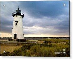 Edgartown Lighthouse Cape Cod Acrylic Print by Matt Suess