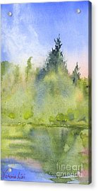 Edge Of Morning Acrylic Print