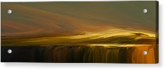 Edge Of Reality Acrylic Print by Lonnie Christopher