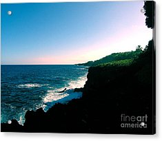 Edge Of The World Acrylic Print by Silvie Kendall