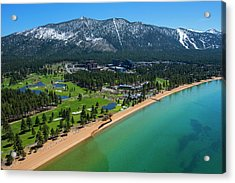 Acrylic Print featuring the photograph Edgewood By Air by Brad Scott