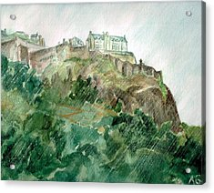 Edinburgh Castle Acrylic Print