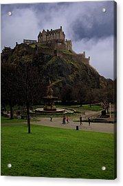 Edinburgh Castle Acrylic Print by Artistic Photos