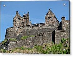 Acrylic Print featuring the photograph Edinburgh Castle by Jeremy Lavender Photography