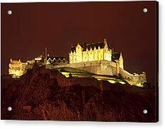 Edinburgh Castle Acrylic Print by Svetlana Sewell