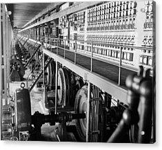 Edison Sault Power Plant At Sault Ste Acrylic Print by Everett