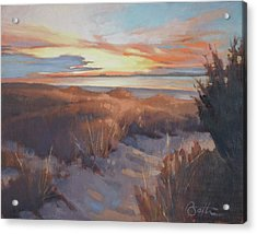 Edisto In December Acrylic Print by Todd Baxter