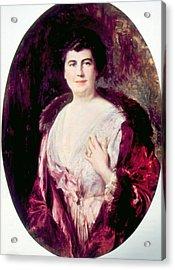 Edith Bolling Galt Wilson 1872-1961 Acrylic Print by Everett
