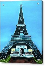 Edsel - Eiffel Acrylic Print by Dean Glorso