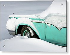 Edsel Enveloped Acrylic Print by Todd Klassy