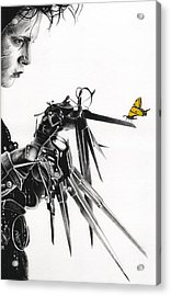 Edward And A Butterfly Acrylic Print