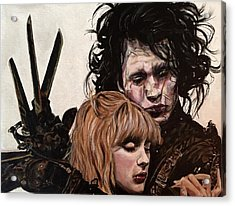 Edward And Kim Acrylic Print