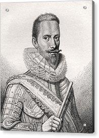 Edward Cecil 1st Viscount Wimbledon Acrylic Print