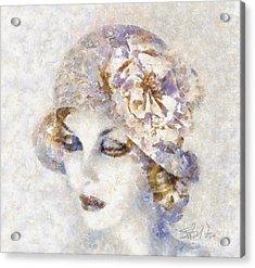 Edwardian Elegance Acrylic Print by Shirley Stalter