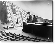Eero Saarinen 1910-1961, Finish Acrylic Print by Everett