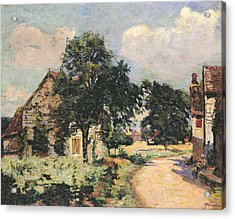 Effect Of The Sun Acrylic Print by Jean Baptiste Armand Guillaumin