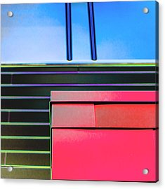 Efficacy Acrylic Print by Lee Harland