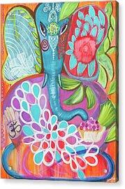 Effortless Ganesha Acrylic Print