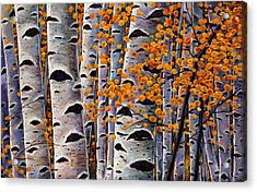 Effulgent October Acrylic Print by Johnathan Harris
